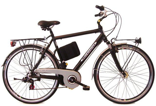 La bicicletta elettrica da città, per il vero gentleman ...